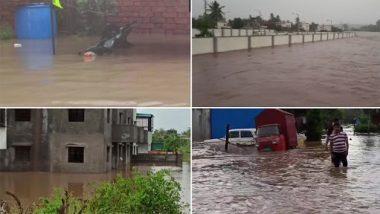 Flood Due To Heavy Rainfall In Maharashtra: पुणे में भारी वर्षा के बीच 40 लोगों को बचाया गया, बारामती में बाढ़ की स्थिति