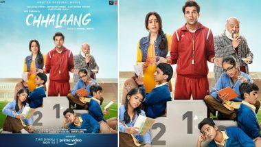 Chhalaang Trailer: बेहद ही मजेदार है राजकुमार राव और नुसरत भरूचा की फिल्म छलांग का ट्रेलर, कॉमेडी और इमोशनल ड्रामा के साथ परफेक्ट फैमिली एंटरटेनर है