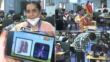 Maharashtra: मुंबई म्यूनिसिपल एंड प्राइवेट उर्दू टीचर्स यूनियन ने कक्षा 1 से 10 के छात्रों के लिए मुफ्त मोबाइल फोन पुस्तकालय किया शुरू