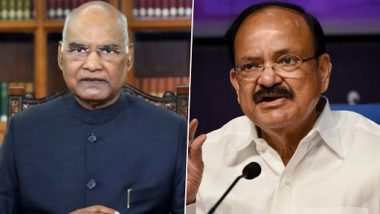 Dussehra 2020 Greetings: राष्ट्रपति रामनाथ कोविंद और उपराष्ट्रपति वेंकैया नायडू  ने दशहरा की पूर्व संध्या पर देशवासियों को दीं शुभकामनाएं