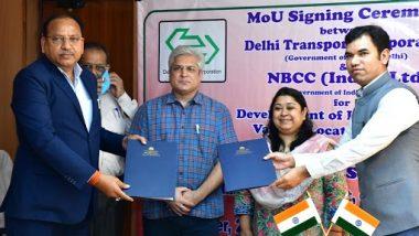 दिल्ली सरकार का बड़ा समझौता, बहु-स्तरीय बस डिपो निर्माण और डीटीसी संपत्तियों के पुनर्विकास के लिए एनबीसीसी के साथ MOU पर हस्ताक्षर