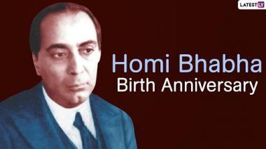 Homi Jehangir Bhabha Birth Anniversary 2020: आज है भारत के परमाणु भौतिक वैज्ञानिक होमी जहांगीर भाभा का जन्मदिन, जानें इनकी जिंदगी से जुड़ी कुछ महत्वपूर्ण बातें