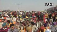 Farmer's Tractor Rally Violence: गाजियाबाद प्रशासन ने प्रदर्शनकारी किसानों से यूपी गेट खाली करने को कहा