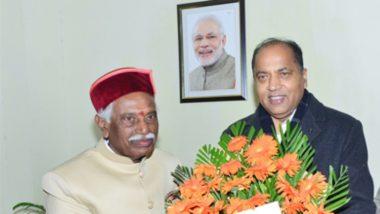 हिमाचल प्रदेश: राज्यपाल बंडारू दत्तात्रेय और CM जय राम ठाकुर ने प्रदेश और देशवासियों को दी दिवाली की शुभकामनाएं