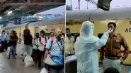RT-PCR Test in Maharashtra: कोरोना संकट के चलते दिल्ली, राजस्थान, गोवा और गुजरात से मुंबई आने वाले यात्रियों के लिए आज से आरटी पीसीआर टेस्ट से गुजरना हुआ अनिवार्य