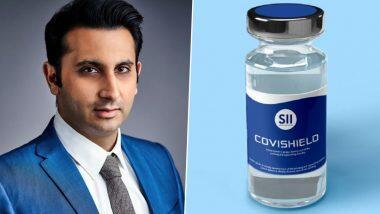 Covishield निर्माता अदार पूनावाला ने अपनी कंपनी की कोरोना वैक्सीन लगवाई, देखें वीडियो
