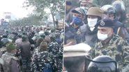Delhi Chalo' Protest: दिल्ली की सीमा पर पहुंचे किसान, सीमाओं पर बढ़ाई गई सुरक्षा, बड़ी संख्या में पुलिसबल तैनात