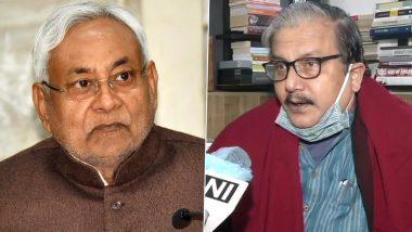 Bihar Government Formation: मनोज झा ने नीतीशकुमार पर साधा निशाना, कहा-सिर्फ 40 सीट के बावजूद उनका ज़मीर कैसे गवारा कर रहा कि वो फिर से शपथ ले रहे हैं