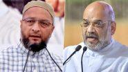 GHMC Elections 2020: रोहिंग्या पर अमित शाह का ओवैसी को जवाब- कर्रवाई करता हूं तो ये लोग पार्ल्यामेंट में शोर मचाते हैं