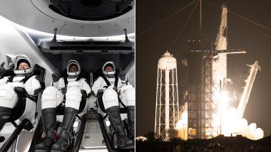 NASA और SpaceX का पहला ऑपरेशनल कमर्शियल क्रू मिशन लॉन्च, 4 अंतरिक्ष यात्री ऐतिहासिक सफर पर रवाना- देखें विडियो