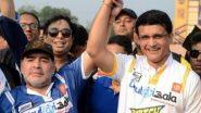 Diego Maradona Passes Away: डिएगो माराडोना के निधन से शोक में सौरव गांगुली, फुटबॉल के जादूगर को लेकर कही ये बात