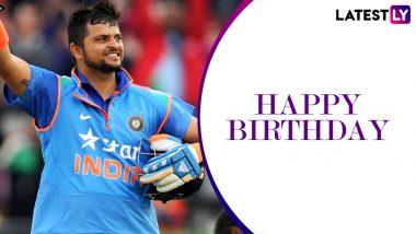 Happy Birthday Suresh Raina: 34 वर्ष के हुए मशहूर क्रिकेटर सुरेश रैना, खेल के मैदान में अब तक इतने आकड़ें कर चुके हैं पार