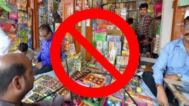 नोएडा और ग्रेटर नोएडा में प्रतिबंध के बावजूद पटाखे बेचने के मामले 5 लोग गिरफ्तार
