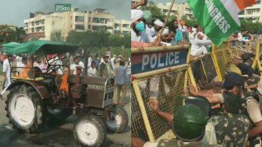 Farmers Protest: गाजीपुर बॉर्डर पर हुआ दंगल, किसानों के समर्थन में उतरे पहलवान