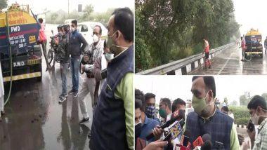 Delhi Air Pollution: दिल्ली में प्रदुषण को लेकर एक्शन मोड़ में केजरीवाल सरकार, गोपाल राय ने राजघाट पहुंचकर लिया इंतजामों का जायजा