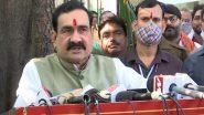 गृह मंत्री नरोत्तम मिश्रा का दावा- राज्य में कोरोना वायरस की दूसरी लहर पड़ोसी महाराष्ट्र की देन है