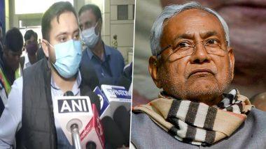 Tejashwi Yadav Attacks on Bihar Govt: आरजेडी नेता तेजस्वी यादव ने बिहार सरकार पर फिर साधा निशाना, कहा-जनादेश बदलाव का था, मेवालाल के मामले पर कही ये बड़ी बात