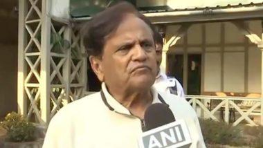 Ahmed Patel Demise: कर्नाटक के नेताओं ने अहमद पटेल के निधन पर जताया शोक