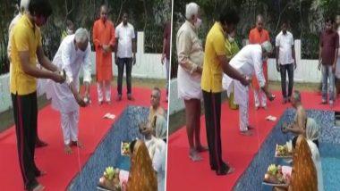 Chhath Puja 2020: बिहार के मुख्यमंत्री नीतीश कुमार ने दिया सूर्य को अर्घ्य, देशभर में व्रतियों ने मांगी मुराद