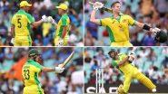 Ind vs Aus 2nd ODI 2020: सिडनी में ऑस्ट्रेलियाई बल्लेबाजों का धमाल, वनडे इतिहास में दूसरी बार टॉप के 5 बल्लेबाजों ने बनाया 50 प्लस का स्कोर