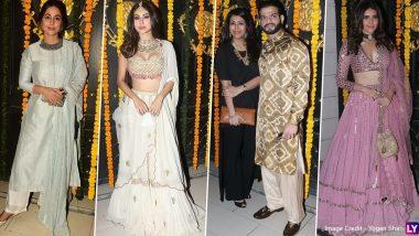 Ekta Kapoor Diwali Bash: एकता कपूर की दिवाली पार्टी में लगा सितारों का मेला, देखिए सेलेब्स के दिलकश तस्वीरें
