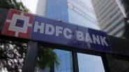 HDFC Bank को रिजर्व बैंक ने नए क्रेडिट कार्ड और डिजिटल लॉन्च रोकने का दिया आदेश