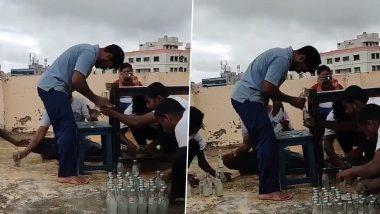 Andhra Pradesh के प्रभाकर ने 1 मिनट में सिर से खोले 68 बोतलों के ढक्कन, Guinness Book में दर्ज कराया अपना नाम (Watch Video)