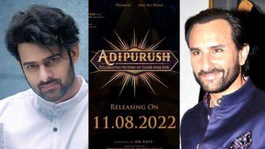 Adipurush: प्रभास और सैफ अली खान की फिल्म आदिपुरुष की रिलीज डेट आई सामने, साल 2022 में इस दिन होगा महा संग्राम