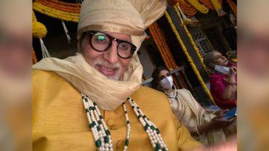 Amitabh Bachchan Shoots with Family: अमिताभ बच्चन ने बेटी श्वेता नंदा और पत्नी जया बच्चन संग की शूटिंग, शेयर की ये फोटो!