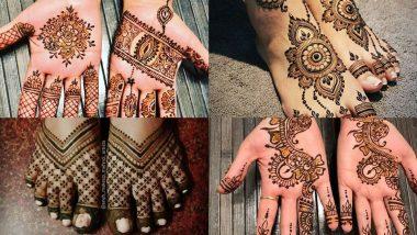 Tulsi Vivah 2020, Mehndi Designs: तुलसी विवाह के अवसर पर अपने हाथों और पैरों में रचाएं मेहंदी, देखें लेटेस्ट डिजाइन्स (Watch Tutorial Videos)