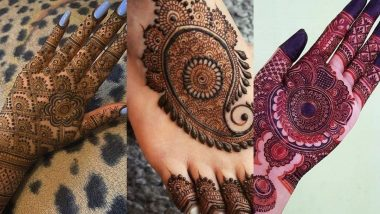 Chhath Puja 2020 Mehndi Designs: Make Mehndi on your hands and feet to make Chhath Puja more special, see attractive and trendy designs (See Pics)