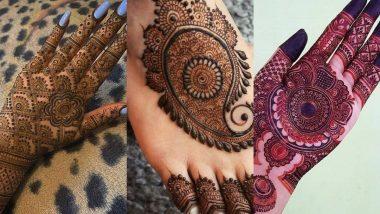 Chhath Puja 2020 Mehndi Designs: छठ पूजा को और खास बनाने के लिए अपने हाथों और पैरों पर रचाएं मेहंदी, देखें आकर्षक और ट्रेंडी डिजाइन्स (See Pics)