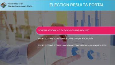 Bihar Assembly Election Results 2020: बिहार विधानसभा और 11 राज्यों के उपचुनाव के नतीजें ECI की वेबसाइट, ऐप पर कैसे देखें?