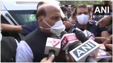 Bihar: बिहार में उपमुख्यमंत्री के नाम को लेकर 'सस्पेंस' बरकरार, राजनाथ सिंह ने कहा- जल्द लिया जायेगा फैसला