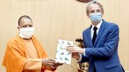 CM योगी आदित्यनाथ से मिले फ्रांस के राजदूत इमैनुअल लेनिन, यूपी के साथ नई साझेदारी के लिए की चर्चा