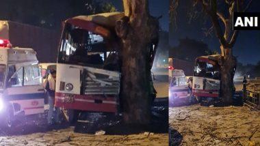 Delhi Road Accident: उत्तर प्रदेश रोडवेज की बस दिल्ली में पेड़ से टकराई, कम से कम 20 घायल; ड्राईवर फरार