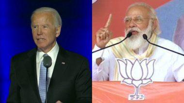 US Election Results 2020: PM नरेंद्र मोदी ने राष्ट्रपति चुनाव जीतने पर जो बाइडेन को दी बधाई, कहा- साथ मिल कर काम करेंगे दोनों देश