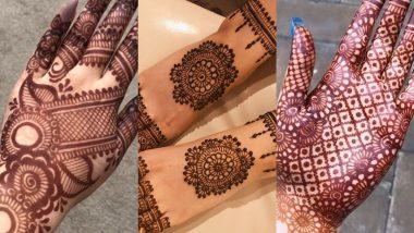 Dhanu Sankranti 2020 Mehndi Design: धनु संक्रांति के दिन अपने हाथों और पैरों में रचाएं मेहंदी, देखें खुबसूरत और लेटेस्ट डिजाइन्स