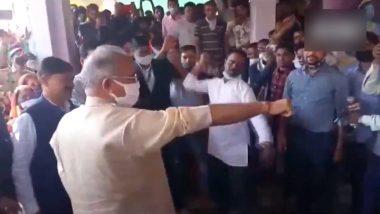 Govardhan Puja 2020: गोवर्धन पूजा में शामिल हुए छत्तीसगढ़ के सीएम भूपेश बघेल, निभाई सांटा प्रहार झेलने की परंपरा (Watch Video)