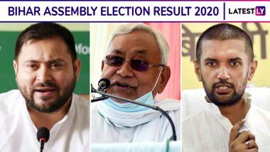 Bihar Assembly Election 2020 Results Live News Streaming: बिहार चुनाव के नतीजे आज तक पर देखें लाइव