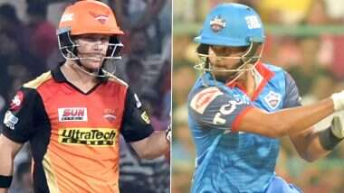 DC vs SRH, IPL 2020 Qualifier 2 Match: अबू धाबी में Shreyas Iyer ने जीता टॉस, दिल्ली कैपिटल्स करेगी पहले बल्लेबाजी