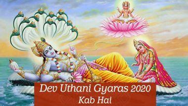 Dev Uthani Gyaras 2020: देवउठनी एकादशी पर योग निद्रा से जागेंगे भगवान विष्णु, मनोकामना पूर्ति व श्रीहरि की कृपा पाने के लिए करें ये खास उपाय