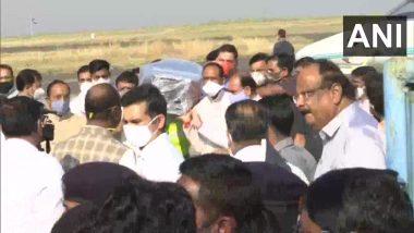 मध्य प्रदेश: पूर्व राज्यसभा सदस्य कैलाश सारंग का पार्थिव शरीर लाया गया भोपाल, सीएम शिवराज सिंह सहित अन्य नेता भी पहुंचे
