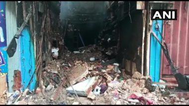 तमिलनाडु: मदुरै के नवबथकाना इलाके की एक दुकान में देर रात लगी आग, अग्निशमन के दौरान दो अग्निशमन अधिकारियों की गई जान