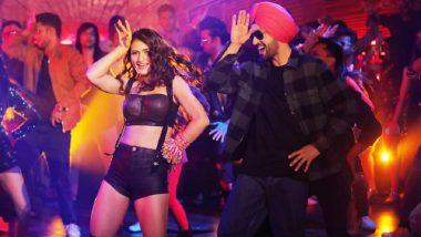 Suraj Pe Mangal Bhari के सॉन्ग 'लड़की ड्रामेबाज है' में दिखा फातिमा सना शेख का हॉट अवतार, दिलजीत दोसांझ संग आई नजर! (See Video)