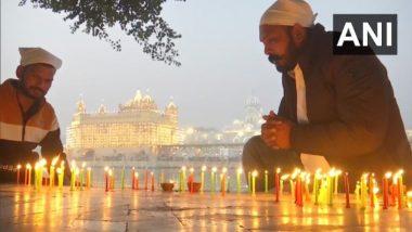 Guru Nanak Jayanti 2020: गुरु नानक देव जी की 551वीं जयंती आज, अमृतसर के स्वर्ण मंदिर में उमड़ी श्रद्धालुओं की भीड़, देखें तस्वीरें