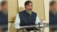 पर्यावरण मंत्री गोपाल राय  ने कहा, पराली समाधान को लेकर जो काम केंद्र को करना चाहिए था उसे दिल्ली सरकार ने किया