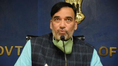 दिल्ली में प्रदूषण की गंभीर स्थिति के मद्देनजर 16 से 30 नवंबर तक 'रेड लाइट ऑन, गाड़ी ऑफ' अभियान का दूसरा चरण चलेगा- मंत्री गोपाल राय