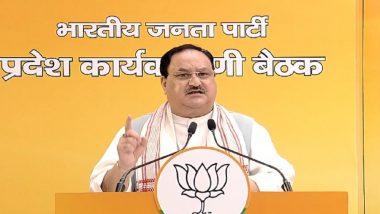 BJP राष्ट्रीय अध्यक्ष जेपी नड्डा ने कहा- मोदी सरकार के 7 साल पूरे होने पर लाख गांवों में सेवा कार्य करेगी बीजेपी