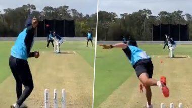 IND vs AUS Series 2020-21: वनडे सीरीज से पहले मैदान में जमकर पसीना बहा रहे हैं केएल राहुल, कहा- टीम इंडिया में वापस आकर अच्छा लगा